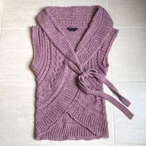 Rose colored sweater by BCBG MAXAZIRA size medium